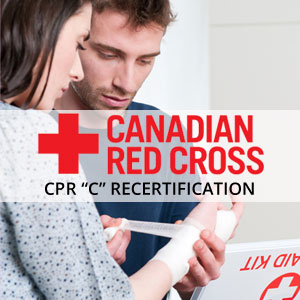 Canadian Red Cross CPR C Recertification