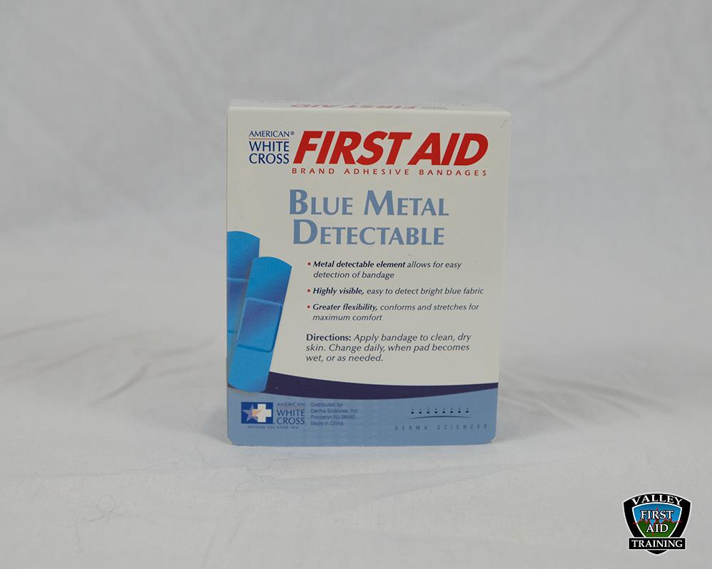 Blue Metal Detectable Strips